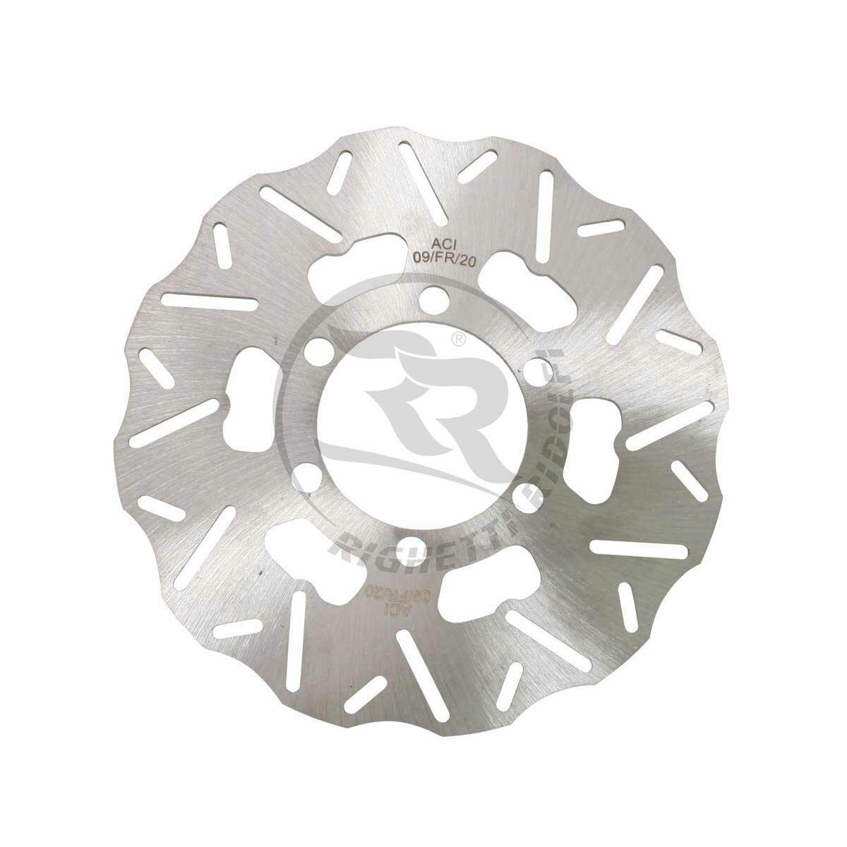 Rear Brake Disc Floating Inox D 170mm Thickness 3 5mm   Righetti e