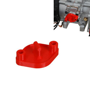 OK/J-OK Suction hole Protection cap, Locking is guaranteed by two internal o-rings, it is not necessary to use the nuts for fixing.